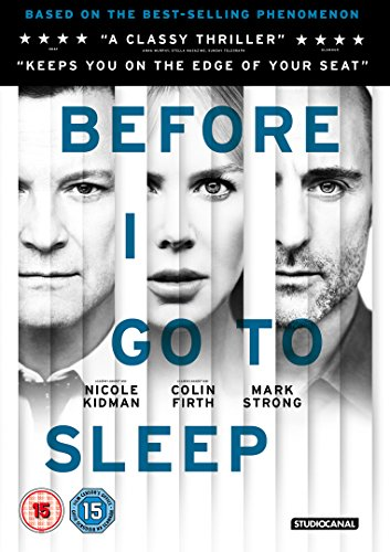 Before I Go To Sleep [DVD]