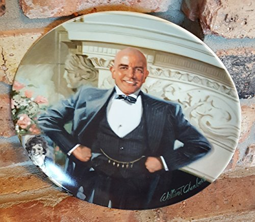 Daddy Warbucks Collector's Plate from the Annie Plate Series by William Chambers for Columbia Pictures and Knowles China