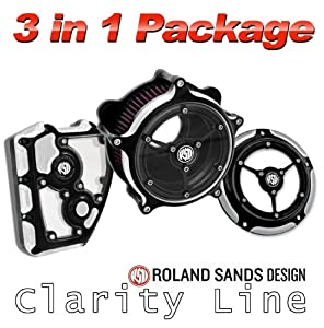 Amazon Com Roland Sands Design Clarity Air Cleaner With