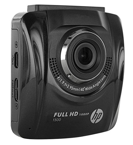 HP F-500 Onboard Car Dash Camcorder - Black