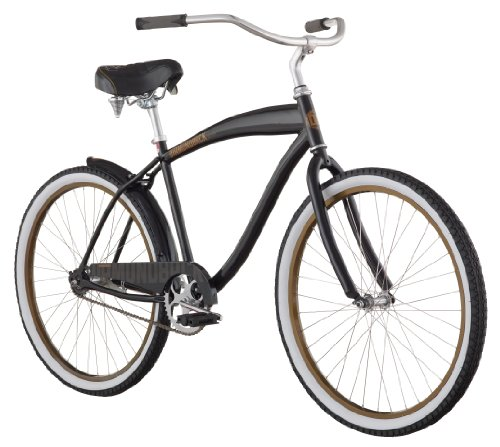 Diamondback 2013 Men's Drifter Beach Cruiser Bike with 26-Inch Wheels  (Black, Mens)