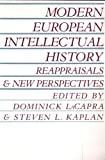 Modern European intellectual history : reappraisals and new perspectives