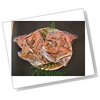 [訳あり] 村上塩引き鮭カマ (500g 真空パック入) 3個(計1.5kg)