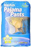 Pure 'n Gentle Youth Pajama Pants for Boys & Girls, 60 Count, Small/Medium, 38-65 Pounds