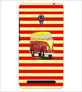 PrintDhaba Van D-5583 Back Case Cover for ASUS ZENFONE 6 A601CG (Multi-Coloured)