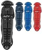 Rawlings 5DCW Adult Double Knee Leg Guards (12 inch Shin)
