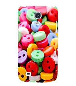 ASSORTED MULTICOLOURED BUTTONS 3D Hard Polycarbonate Designer Back Case Cover for Samsung Galaxy S4 Mini :: Samsung Galaxy S4 Mini i9190