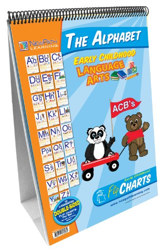 NewPath Learning Alphabet Curriculum Mastery Flip Chart Set, Early Childhood (Foundational Skills Flip Chart compare prices)