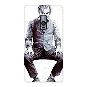 Cute White Insane Multicolor Back Case Cover for OnePlus Two