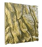 Exo Terra PT2961 Steinmotivrück Wand für Terrarien 60 x 60...