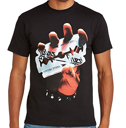 JUDAS PRIEST - BRITISH STEEL Band T-Shirt (M)