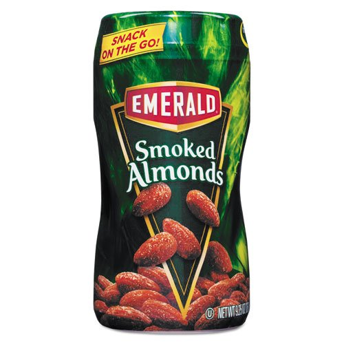 Emerald - Smoked Almonds, 9.25 Oz On-The-Go Canister 33302 (Dmi Ea