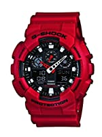 Casio G-Shock Analog-Digital Black Dial Men's Watch - GA-100B-4ADR (G344)