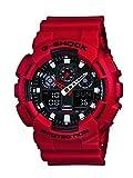 G-Shock Ga-100 Watch Red 0