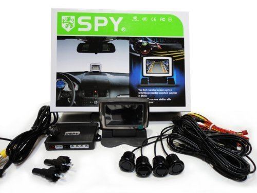 Rear View LCD with Camera and Park Sensor System Night Vision