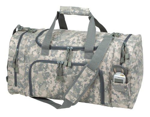 DALIX ACU Duffel Bag Camouflage Duffle Gym Bag (Acu Digital Bag compare prices)