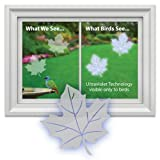 Window Alert Maple Leaf Decal