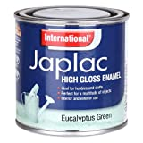 INTERNATIONAL JAPLAC HIGH GLOSS ENAMEL 250ML EUCALYPTUS GREEN