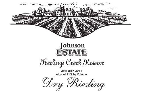 2011 Johnson Estate Freelings Creek Reserve Dry Riesling 750 Ml