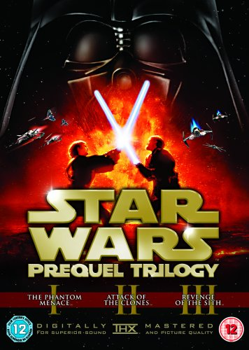 Star Wars - Prequel Trilogy [DVD]