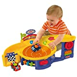 Fisher-Price Roll 'n' Racers Spinning Speedway Playset