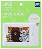 LINE CHARACTER パスケース/ホワイト/たそがれ