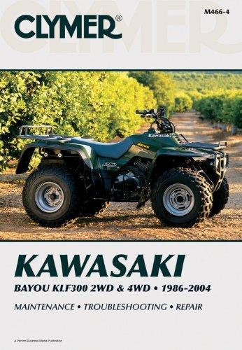 Kawasaki Bayou KLF300 2WD & 4WD (Clymer Motorcycle Repair)