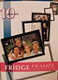 Fridge Frames 10 Piece Set Magnetic Photo Frames