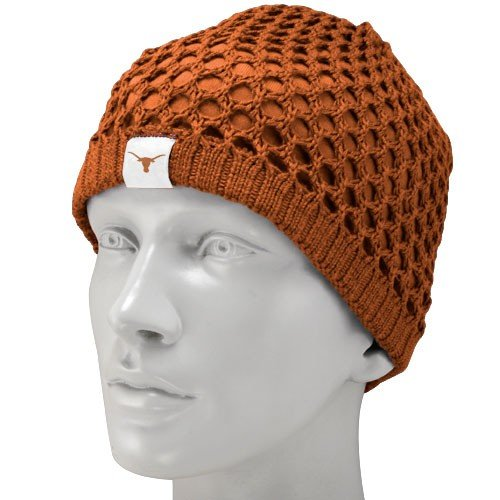 Nike Texas Longhorns Ladies Focal Orange Sweater Knit Beanie at Amazon.com
