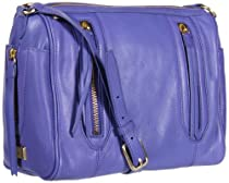 Hot Sale botkier Aldyn 1315453-H-PBL Shoulder Bag,Purple/Blue,One Size