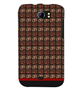 PrintDhaba Tower Pattern D-1790 Back Case Cover for MICROMAX A110 CANVAS 2 (Multi-Coloured)