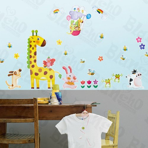 Wall Decor Zoo Party 2 X Large Wall Decals Stickers