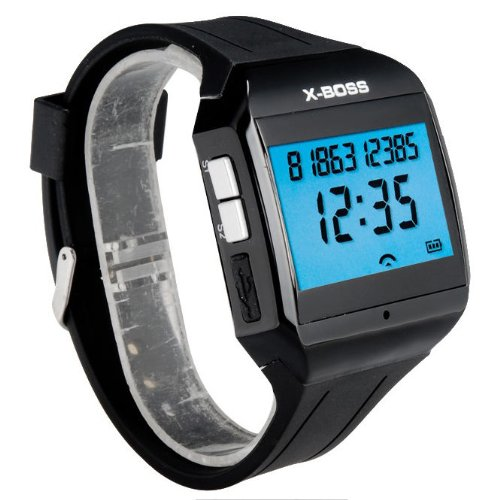 New X-Boss Bluetooth Hands-Free Digital V3.0 Watch With Microphone Speaker Call
