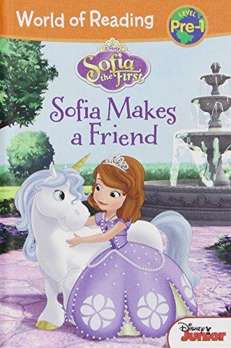 Sofia the First:: Sofia Makes a Friend (Sofia the First: World of Reading, Level Pre-1)