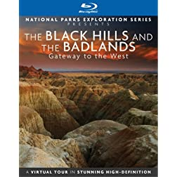 National Parks Exploration Series: The Black Hills and the Badlands - Gateway to the West [Blu-ray]