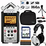Zoom H4n 8-Piece Recorder w SoniCase Soft-shell Carrying Case Bundle