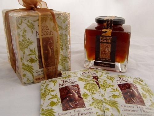 Orange Blossom Honeynoosh Italian Jar 16-Once - Silken Teabag