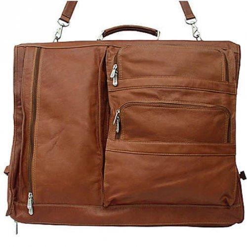 Piel Leather Executive Expandable Garment Bag