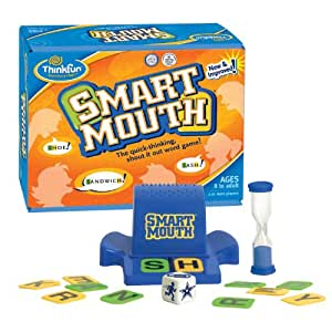 Think Fun Smart Mouth Word Game