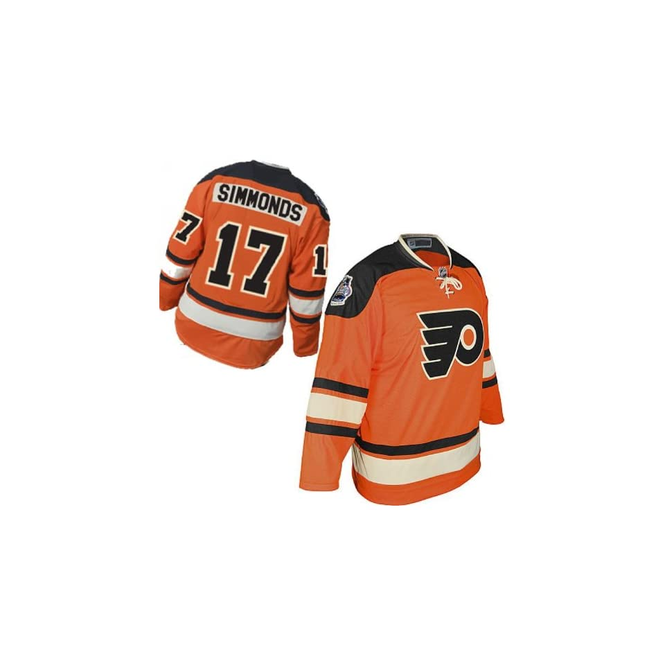 2928afdd Wayne Simmonds #17 Youth Jersey Philadelphia Flyers 2012 Winter classic  Jersey Hockey Jerseys size S/M