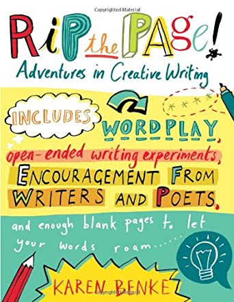 Image: Cover of Rip the Page!: Adventures in Creative Writing