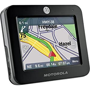 Motorola MOTONAV TN20 3.5-Inch Portable GPS Navigator with Text-to-Speech