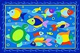 LA Rug Somethin' Fishy Rug 19″x29″ thumbnail