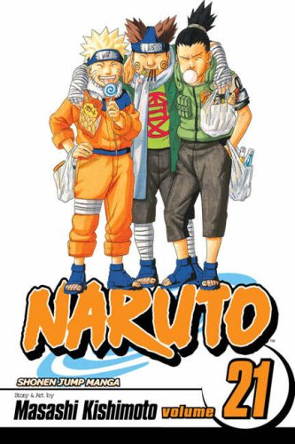 NARUTO -ナルト- コミック21巻 (英語版)