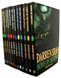Darren Shan The Saga of Darren Shan set, 12 books collection pack RRP £71.88 (Allies of Night /Cirque du Freak,/ Hunters of Dusk / Killers of Dawn /Lake of Souls / Lord of Shadows / Sons of Destiny /,Vampire Prince /Vampire's Assistant / Trials of Death