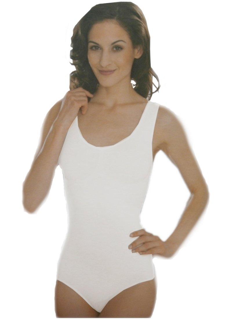Formbody Bauchweg Body Damen weiß L (0016)