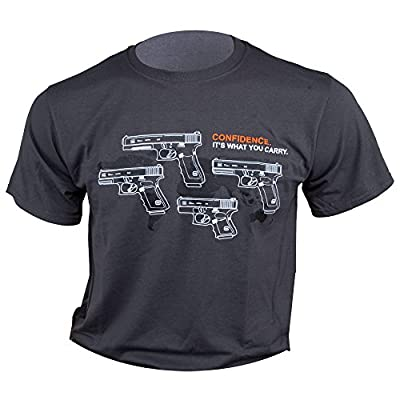 Glock 9mm Pistol Family T-Shirt (Gray) by Glock