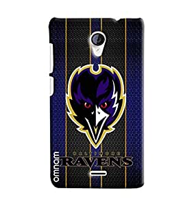 Omnam Ravens Printed Designer Back Cover Case For Micromax Unite 2 A106