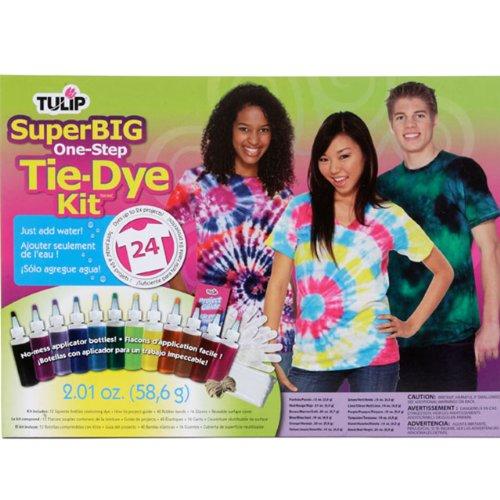 Tulip One-Step Super Big Tie Dye Kit, 12 Colors front-266114