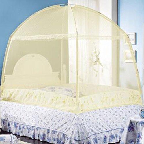 Weltzukaufen-Moskitozelt-Dreitriger-Moskitonetz-Moskito-Schutzzelt-fr-Doppelbetten-Mehrfarbig-212152151721817m